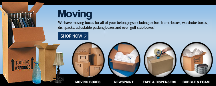 Moving Boxes Newsprint
