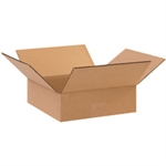 """Picture of 10"""" x 10"""" x 3"""" Flat Corrugated Boxes"""