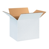 "Picture of 12"" x 10"" x 10"" White Corrugated Boxes"