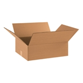 """Picture of 17"""" x 14"""" x 5"""" Flat Corrugated Boxes"""
