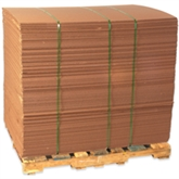 """Picture of 42"""" x 42"""" Corrugated Sheets"""
