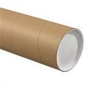 "Picture of 5"" x 60"" Kraft Jumbo Mailing Tubes"