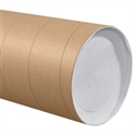 "Picture of 8"" x 60"" Kraft Jumbo Mailing Tubes"