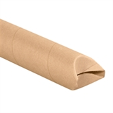"""Picture of 3"""" x 48"""" Kraft Crimped End Mailing Tubes"""