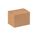 "Picture of 6"" x 4 1/2"" x 4 1/2"" Kraft Gift Boxes"