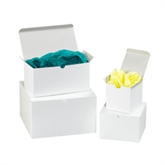 """Picture of 9"""" x 9"""" x 9"""" White Gift Boxes"""
