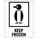 """Picture of 3"""" x 4"""" - """"Keep Frozen"""" Labels"""