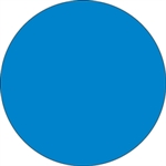 """Picture of 1"""" Light Blue Inventory Circle Labels"""