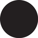 "Picture of 1 1/2"" Black Inventory Circle Labels"