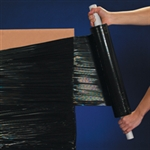 """Picture of 20"""" x  120 Gauge x 800' Black Extended Core Opaque Stretch Film"""