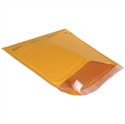 "Picture of 10 1/2"" x 16"" Kraft #5 Self-Seal Bubble Mailers"