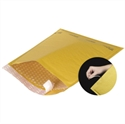"""Picture of 6"""" x 10"""" Kraft #0 Self-Seal Bubble Mailers w/Tear Strip"""