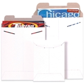 """Picture of 9"""" x 11 1/2"""" White Flat Mailers"""