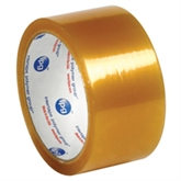 "Picture of 2"" x 55 yds. Clear 1.7 Mil Natural Rubber Tape"