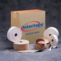 "Picture of 1 1/2"" x 500' Kraft Intertape - Convoy GSO Light Paper Tape"