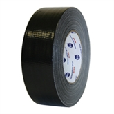 "Picture of 2"" x 60 yds. Black 10 Mil Cloth Duct Tape"