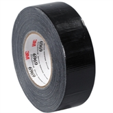 "Picture of 2"" x 60 yds. Black 3M - 6969 Duct Tape"