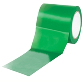 """Picture of 4"""" x 36 yds. Green Solid Vinyl Safety Tape"""