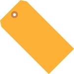 """Picture of 2 3/4"""" x 1 3/8"""" Fluorescent Orange 13 Pt. Shipping Tags"""