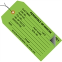 "Picture of 4 3/4"" x 2 3/8"" - ""Repairable or Rework"" Inspection Tags 2 Part - Numbered 001 - 499 - Pre-Wired"
