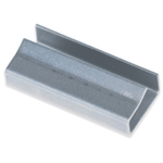 """Picture of 5/8"""" Open/Snap On Metal Poly Strapping Seals"""