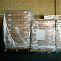 "Picture of 48"" x 46"" x 72"" - 1 Mil Clear Pallet Covers"