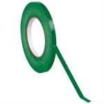 "Picture of 3/8"" x 180 yds. Dark Green (16 Pack) Bag Tape"