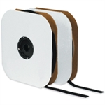 """Picture of 2"""" x 75' - Hook - Black Velcro® Tape - Individual Strips"""