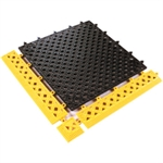 "Picture of 12"" x 12"" (Tile) Black Lok-Tyle™ Drainage Mat"