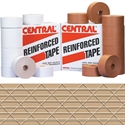 "Picture of 3"" x 500' Kraft Central - 260 Reinforced Tape"